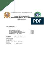Informe 1 de Laboratorio de Fisica general unmsm