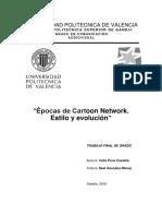 PONS - Las Épocas de Cartoon Network. Estilo y Evolución.