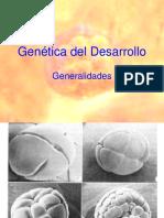 Genetica Del Desarrollo 2009
