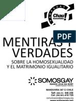 Mentiras y Verdades Sobre La Homosexualidad y Matrimonio Igualitario