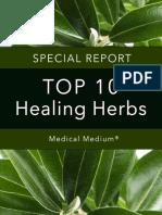 Healing Herbs Report