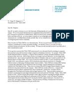 TIAA-CREF Template Letter