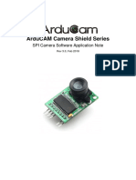 ArduCAM Camera Shield Software Application Note