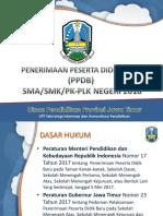 Ppdb 2018 Smk-sma