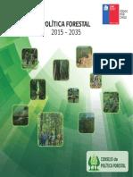 POLITICA FORESTAL 2015 - 2035