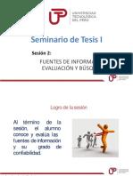 Sesion 2 Fuentes de Informacion Busqueda y Evaluacion