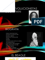 Ideas Evolucionistas de Darwin