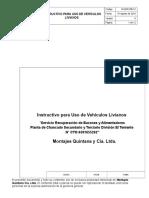 In-SER-RB-12 Instr. Uso Vehículos Livianos_V0