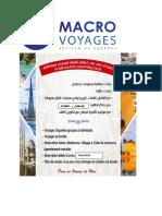 Produits Macro Voyages