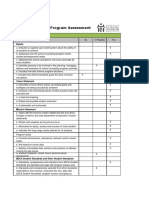 group project sc program assessment
