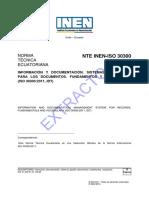 ISO UNE 30300 Extracto