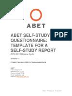 C002 CACSelf Study Questionnaire 20178 19 Version 1.0 FINAL