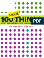100more Things Every Designer Needs to Know