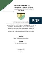 Proyecto Mori Egoavil TA 1 TA 2 Carlos Tingo