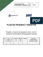 Plan de Pruebas y Ensayos