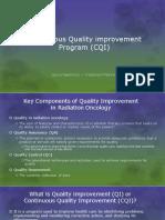 treatment plan - continuous quality improvement-