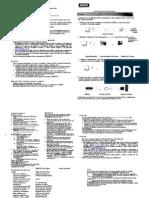 Instructivo sobre conexión fija ADSL y lista de errores