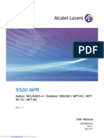 Alcatel-Lucent 9500 MPR User Manual