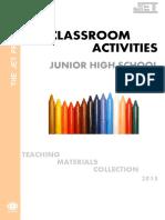 Classroom Activities Junior High School
