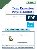 08.Texto Expositivo Desarrollo