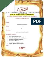 Auditoría Administrativa- Actividad