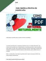 La manera más rápida y efectiva de reducir la presión alta – Hoy Aprendí Salud.pdf