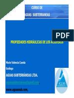 T-9-Propiedades Hidraulicas de Acuiferos