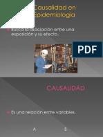 Causalidad en Epidemiología