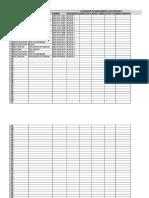 Calendario Mantenimiento Periodo 2018-2
