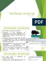 Aula 01 Introdução JavaScript