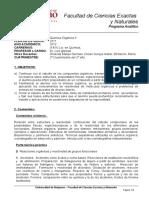 0140100012QUIO2 Quimica Organica II 2011 2013 Prog