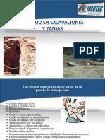 Trabajos en Excavaciones y Zanjas Incotec