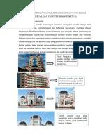 Analisis Perbandingan Antara Dua Bangunan Yang Sesuai Kontekstual Dan Yang Tidak Kontekstual