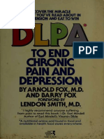 DLPA to End Chronic Pain and Depression