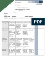 pauta de evaluación 8°A-B Infografía