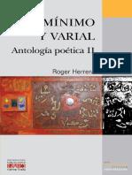 mínimo y varial - antología poética ii