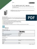 Industrial Ethernet Switch - FL SWITCH SFN 16TX - 2891933
