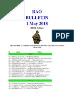 Bulletin 180501 (HTML Edition)