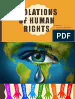 Violations of Human Rights