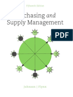 Purchasing and Supply Management 15th Ed.