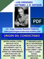 6- Los Orígenes Del Conductismo, Watson