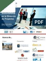 Sostenibilidad en La Dirección de Proyectos