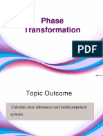 7. Phase Transformation