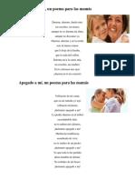 Poemas Madre