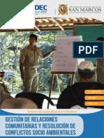 4.Gestion de Relaciones Comunitarias y Resolucion de Conflictos Socio Ambientales