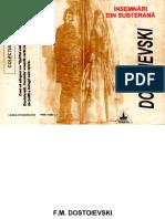 Feodor Mihailovici Dostoievski - Însemnări din subterană.pdf
