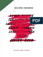RAYA, Javier - La Rebelion de Los Negros_Ámbar Cooperativa Editorial