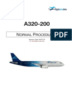 A320-X Normal Procedures