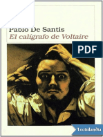 El Calígrafo de Voltaire - Pablo de Santis