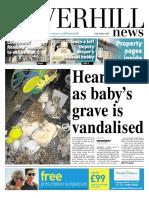 Baby Grave Vandalism 1